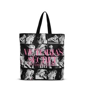 Victoria Secret Black. Bombshell Supermodel Tote